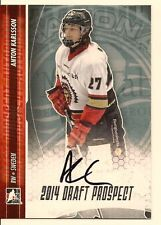 ANTON KARLSSON 2014 LEAF IN THE GAME ITG DRAFT PROSPECTS ON CARD AUTO