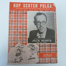 songsheet HOP SCOTCH POLKA Jack White 1949
