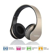 Foldable Bluetooth Wireless Headphone Stereo Headset Handsfree Call +Mic/FM G3N8
