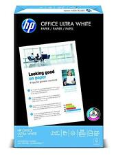HP Paper, Office Ultra White, 20lb, 11 x 17, Ledger, 92 Bright, 500 Sheets / 1 R