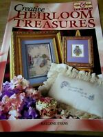 Creative Heirloom Treasures by Kaylene Evans Embroidery instructions patterns pb