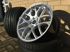 "19"" Aluwerks DTM silver Alloy Wheels & Tyres to fit VW TRANSPORTER T5 T6 815KG"