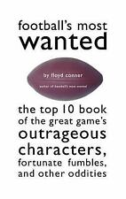 Football's Most Wanted Top Ten Book of the Great Game Football Sports New Book
