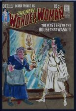 Wonder Woman 195 COVER PAINTING plus APPROVAL PROOF & FILE COPY COMIC 1971 Diana