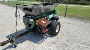 Turfco SP 1530 Wide Spin Tow Behind Topdresser Model 85803 Self Contained