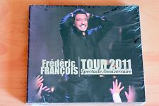 Frédéric François Tour 2011 - Spectacle anniversaire - 18T CD Neuf New sealed