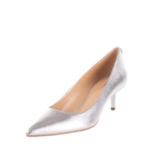 RRP €130 MICHAEL MICHAEL KORS Leather Court Shoes Size 41 UK 8 US 10 Metallic