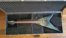 Ibanez x series rr250 flying v japan 1985 gun metal electric guitar