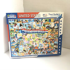 United States of America 1000 Piece Puzzle Complete