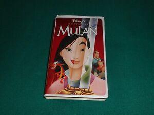 Mulan (Walt Disney)  VHS [Edizione: USA] (leggi dettagli)