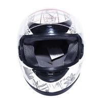 Motorcycle Butterfly Flip Up Full Face Street Dirt Bike Adult Helmet DOT S M L