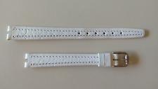 Tissot Rockwatch R140 10mm cinturino bianco - rock watch nos white lady strap
