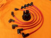 AccuSpark 8mm Silicone Ignition HT Leads + Distributor Cap Fits MORRIS MINOR