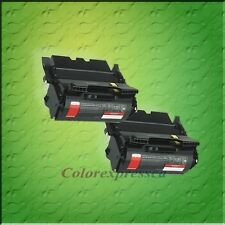 2 TONER CARTRIDGE FOR LEXMARK T-640 T640 T642 T644