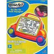 Roseart Portable Travelling Hydro Car Laptop Children's Car Travel Game Toy