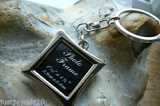 Unusual Gift for him Mens husband Family photo keyring boyfriend Wife Mother