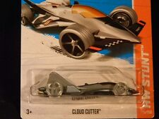 HW HOT WHEELS 2013 HW STUNT #79/250 CLOUD CUTTER JET PLANE HOTWHEELS GREY VHTF