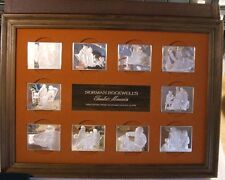 NORMAN ROCKWELL'S FONDEST MEMORIES~~10 INGOT SILVER PROOFS~~BEAUTY W/OVER 30 OZS