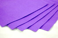 A4 Felt Fabric Sheets for Arts and Crafts, Many Colours & Quantities