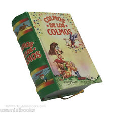 "new collectible small 2.65"" tall book easy to read Colmos de los Colmos spanish"