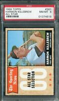 "1968 Topps #361 Harmon Killebrew ""All Star"" PSA 8 NM-MT"
