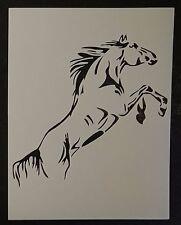 "Rearing Horse 8.5"" x 11"" Custom Stencil FAST FREE SHIPPING"