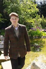 [Sale] Harris Tweed Jacket, Lightweight (Fitted Style) - Regular 40 Angus
