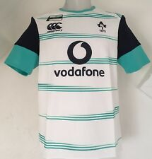 IRELAND RUGBY 2016/17 S/S WHITE PRO TRAINING JERSEY BY CANTERBURY SIZE LARGE NEW