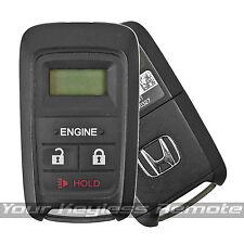 Oem Honda Engine Remote Start Key Keyless Entry Fob Alarm Transmitter RS-13AC