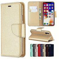 Pour tous les Samsung Galaxy A, Étui rabattable porte-carte languette magnétique