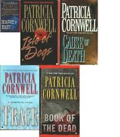 Patricia Cornwell lot of 5 mass-market paperbacks good condition Kay Scarpetta