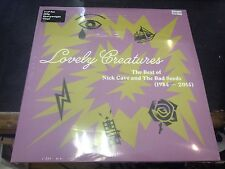 NICK CAVE AND THE BAD SEEDS - LOVELY CREATURES THE BEST OF 3-LP NEW MINT SEALED