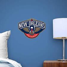 "New Orleans Pelicans 13""x10"" Fathead Nba Team Logo Teammate Vinyl Wall Graphics"