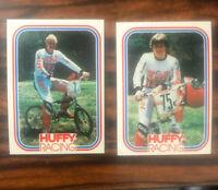 BMX Huffy Racing trading card Bicycle Motocross SET