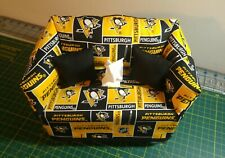 NHL Pittsburgh Penguins Tissue Box Cover Handmade