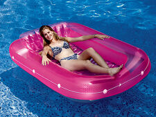 Swimline 9052 Tan Dazzler Swimming Pool & Deck Inflatable Tanning Lounge Float
