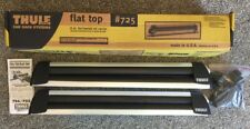 "THULE #725 Flat Top 30"" Ski/Snowboard Carrier Car Roof Rack (No Keys or Mounts)"