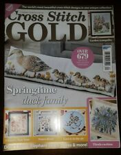 NEW Cross Stitch Gold Magazine Issue 77 March/April 2020 Ducks, cupid, flowers
