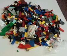 500+ Clean Lego Pieces Bulk Plus three Minifigures good clean legos Lot #18