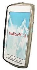Silikon TPU Handy Hülle Cover Case Schutz in Smoke für Sony Ericsson Xperia Neo