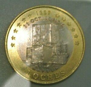LOCHES  10 EURO 1997  BI METALIQUE RARE