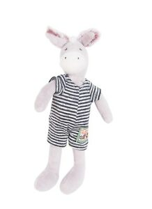 Moulin Roty La Grande Famille 20 cm Soft Toy Barnabe the Donkey from Wyestyles
