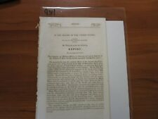 Government Report Dr. William P. Buel Compensation for His Medical Service  #934