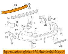 TOYOTA OEM 11-17 Sienna Rear Bumper-Reinforcement 5202308020