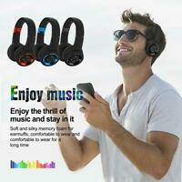 Bluetooth Headset Noise Cancelling Over Ear With Microphone Wireless Headphones
