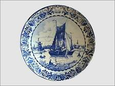 Delfts Blauw Chemkefa borden 2 st.  Keramiekfabriek L. L. Zwikker