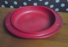 Tupperware ✿ ULTRAPLUS ✿ 250 ml-couvercle, circulaire ✿ Ø 18 cm (13,7 cm intérieur) ✿ cramoisie