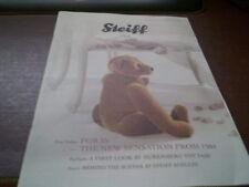 STEIFF Club Oso revista de febrero de 2010