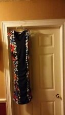 Boden Women's Multicolor Floral Print Sleeveless Dress Size 2