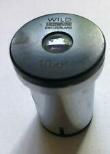 Eyepiece (Lens) MICROSCOPE WILD HEERBRUGG SWITZERLAND 10 X K